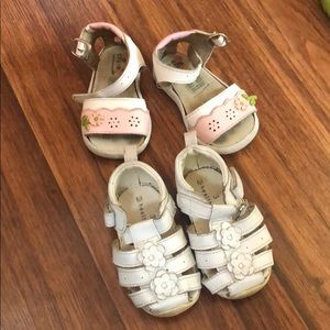 Two Pairs of Baby Shoes!🌸 12/18 months